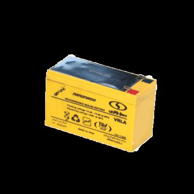 باتری یو پی اس 12 ولت 7.5 آمپر صبا باتری