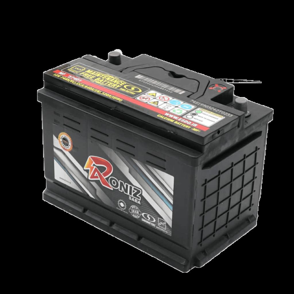 باتری 74 آمپر رونیز