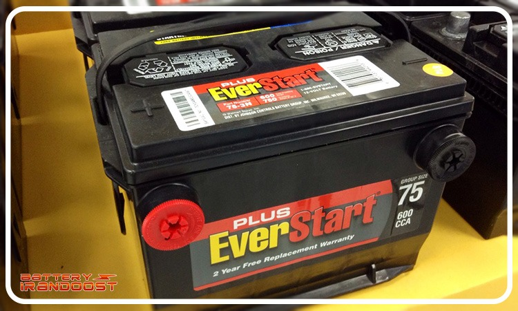 انتخاب باتری مناسب ماشین