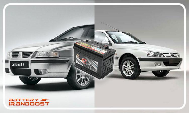 باتری رونیز مناسب برای ماشین هایی نظیر پرشیا و سمند - باطری رونیز ساخت صبا باتری