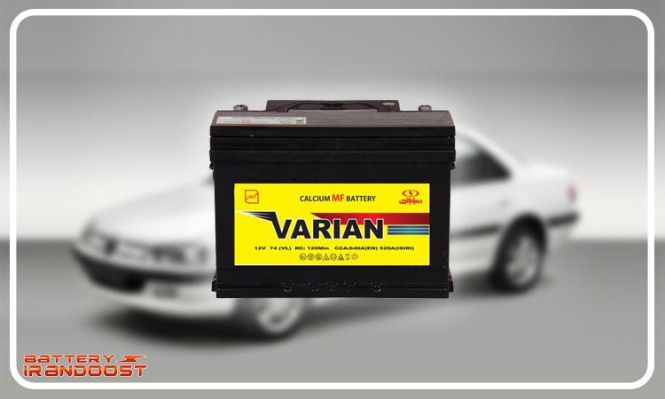 انواع باتری ماشین پژو پارس - عمر مفید باتری پژو پارس