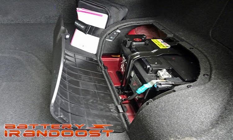 انتقال باتری ماشین به صندوق عقب