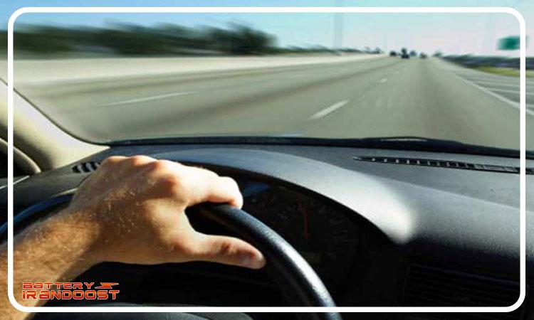 عدم رانندگی در فاصله های کم