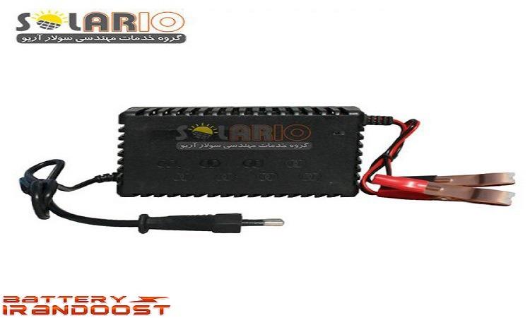 شارژر باتری خودرو امستار مدل ۱۲۰۷
