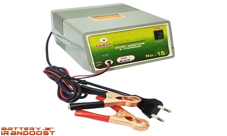 شارژر باتری خودرو مدل NT_15